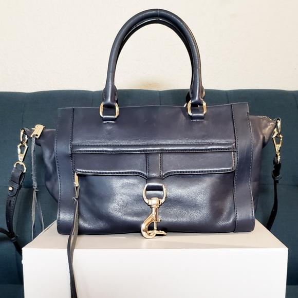 Rebecca Minkoff Handbags - Rebecca Minkoff Navy Crossbody Satchel